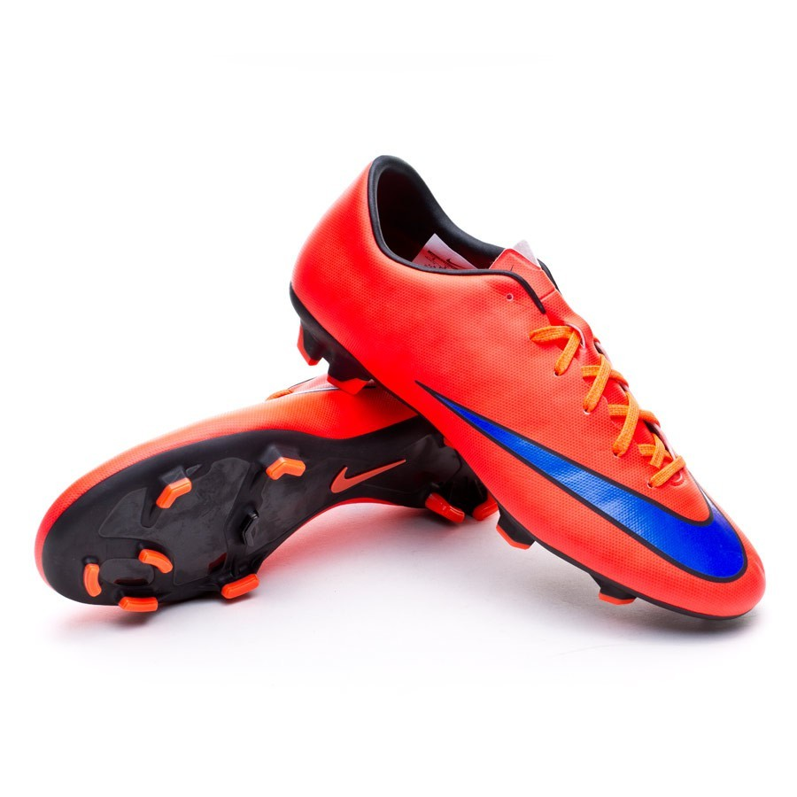 8b33ec445 Nike Mercurial Victory V FG Football Boots. Bright crimson-Persian violet-Black  ...