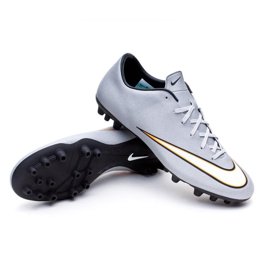8fd218248910 Boot Nike Mercurial Victory V CR AG-R Metallic silver-White-Hyper ...