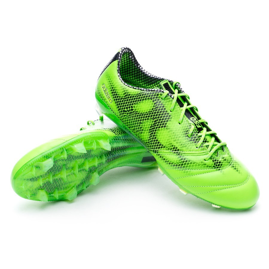 29d4d08292 Boot adidas adizero F50 TRX FG Leather Solar green-White-Black ...