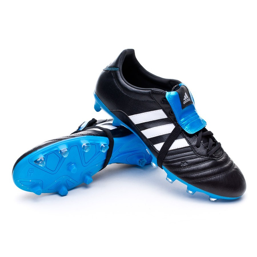 ab405b7bec Boot adidas Gloro FG Black-White-Solar blue - Football store Fútbol ...