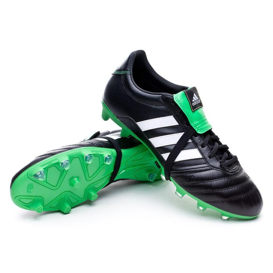 79fd3109ba Boot adidas Gloro FG Black-White-Vivid green - Football store Fútbol Emotion