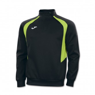 Sweatshirt Joma Champion III Preto-Verde