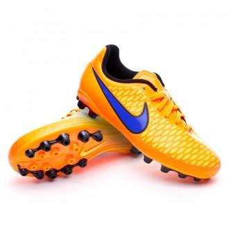 Chuteira  Nike Jr Magista Onda AG Total orange-Persian violet-Laser orange
