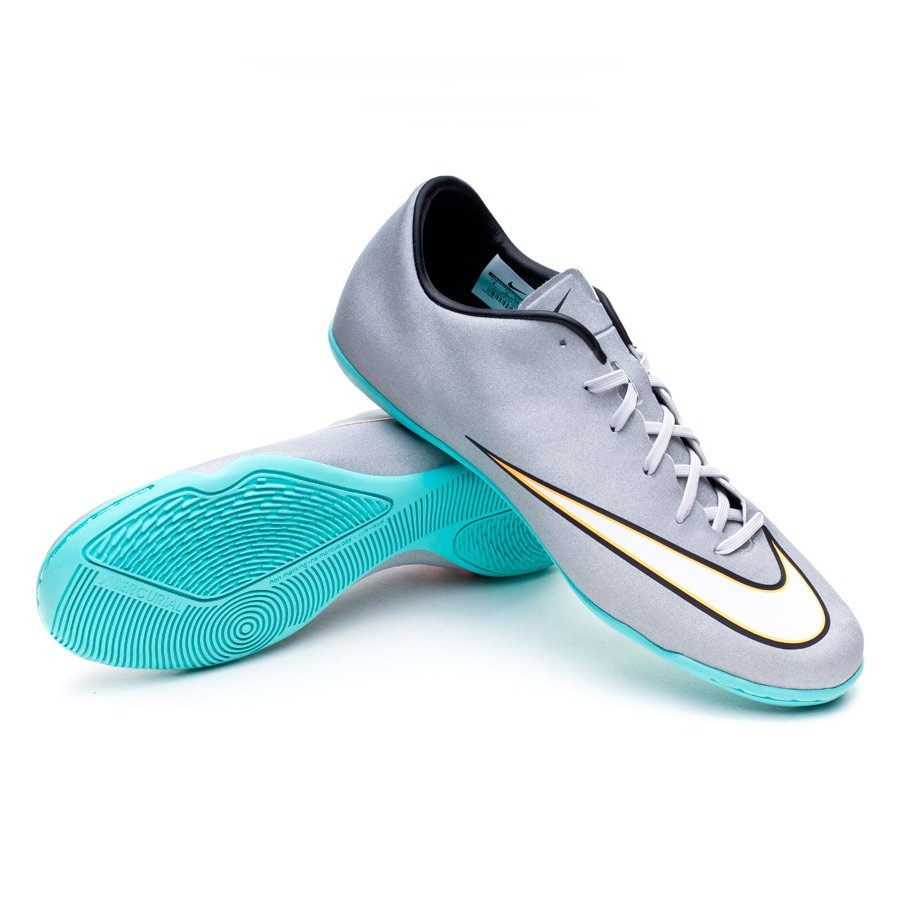 ad3c94ffc37 ... greece futsal boot nike mercurial victory v cr ic metallic silver hyper  turquoise football store fútbol