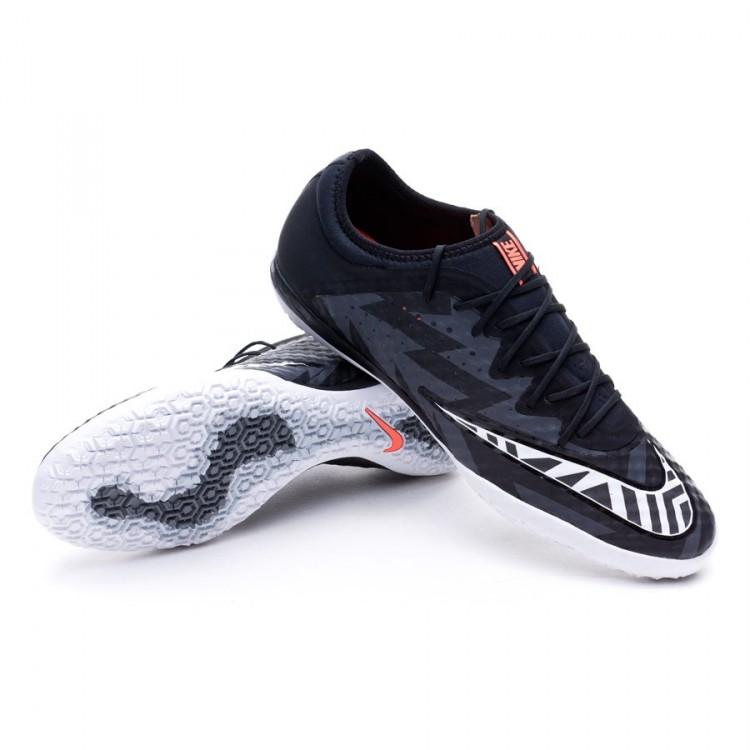 85ee4ef252d Futsal Boot Nike MercurialX Finale Street IC Black-White-Hot lava ...