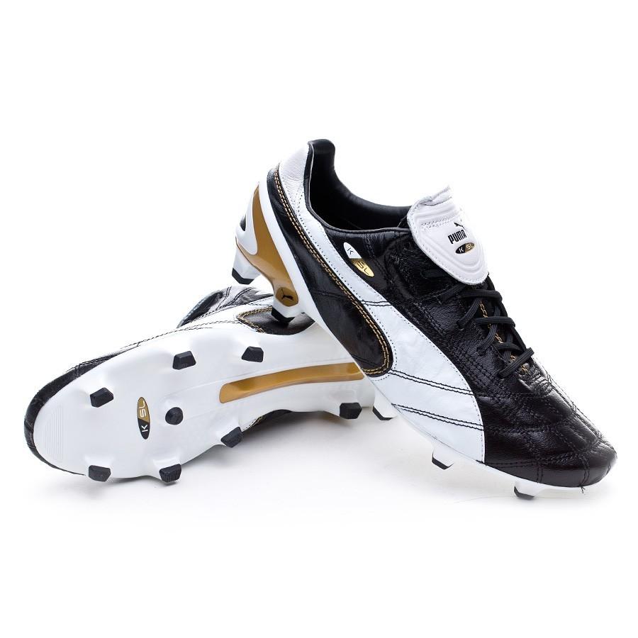 Scarpe Puma King SL Classico FG Limited Edition Black-White-Gold - Negozio di  calcio Fútbol Emotion d22157d108b