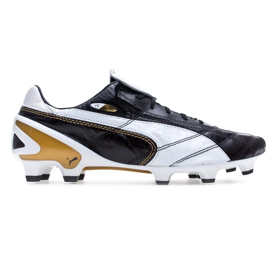 7f66a5e1b18bd Scarpe Puma King SL Classico FG Limited Edition Black-White-Gold - Negozio  di calcio Fútbol Emotion
