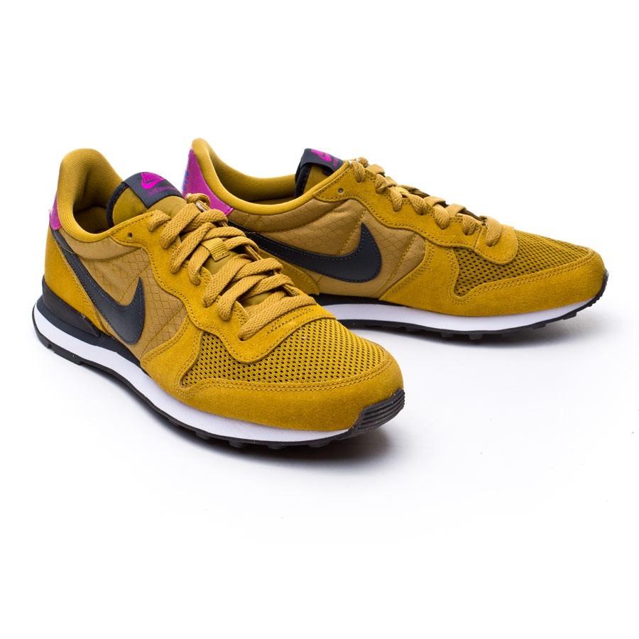 best service 93e93 9185c Zapatilla Nike Internationalist Bronzine-Anthracite-Black - Soloporteros es  ahora Fútbol Emotion