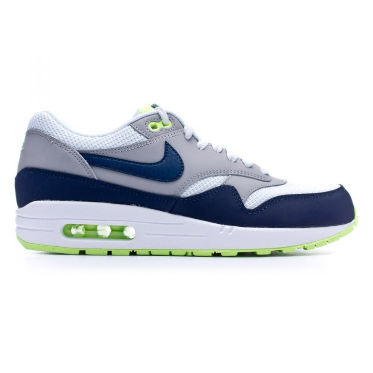 newest collection c83aa 0e107 zapatilla-nike-air-max-1-essential-white-midnavy-
