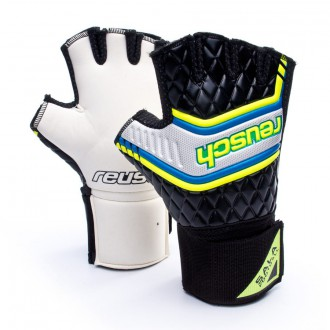 Glove  Reusch Sala Football SG Short Black-Yellow