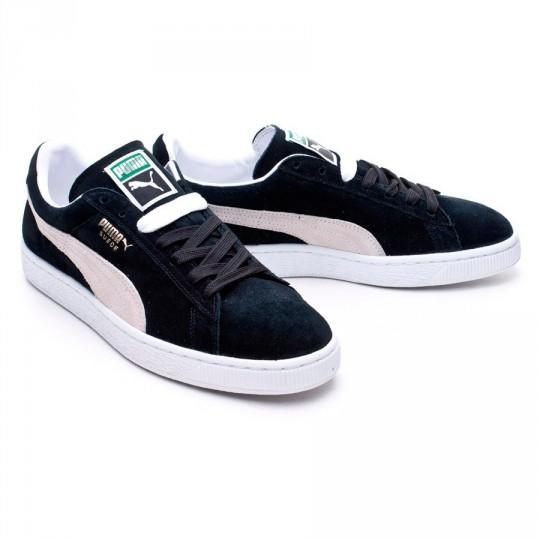 Zapatilla  Puma Suede Classic + Black-White