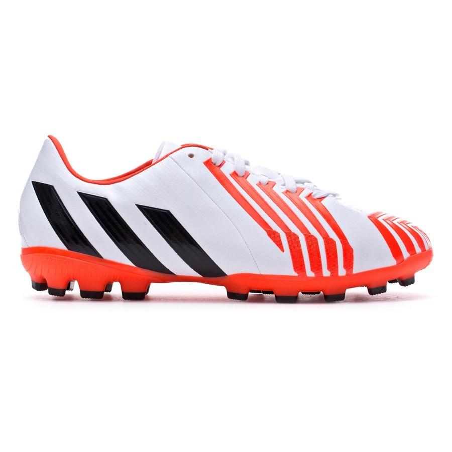 5c7c18da2b52 Boot adidas Jr Predator Absolado Instinct TRX AG White-Solar red -  Soloporteros es ahora Fútbol Emotion