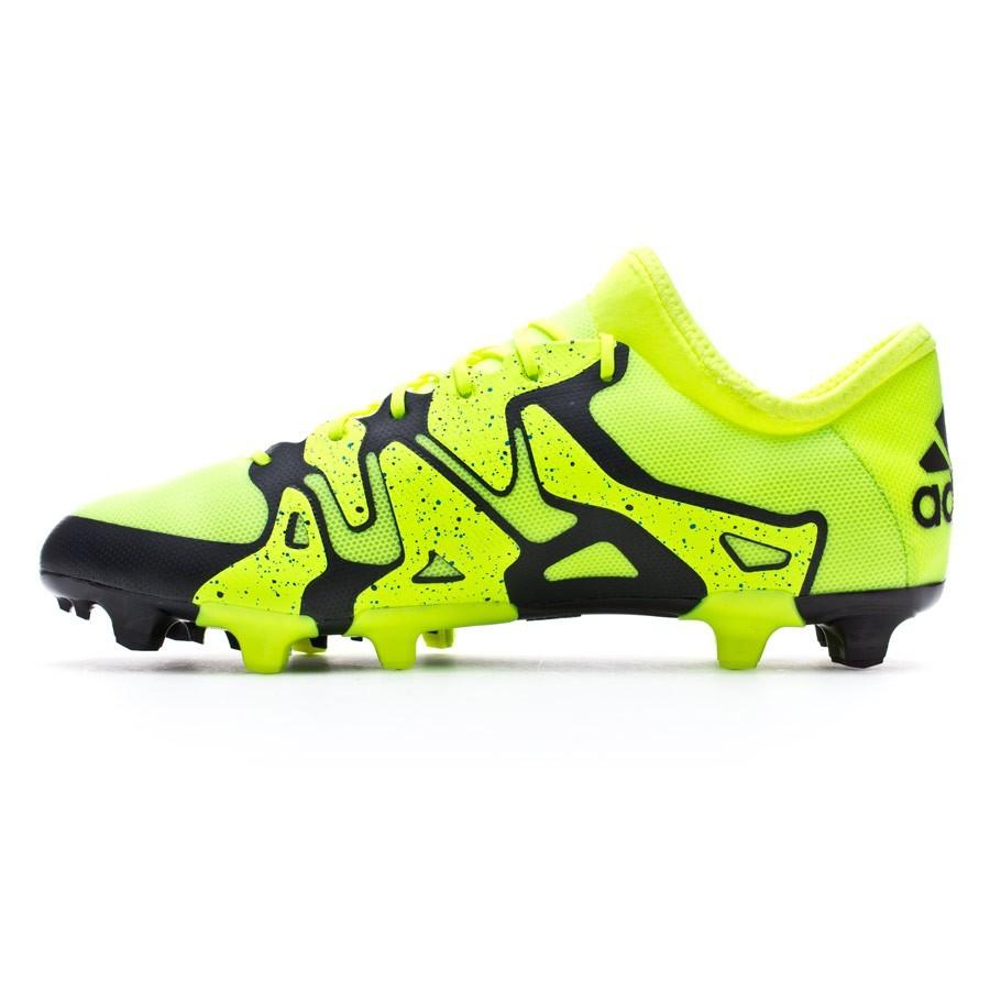 En riesgo Que Escoger  Football Boots adidas X 15.2 FG/AG Solar yellow-Core Black-Frozen yellow -  Football store Fútbol Emotion