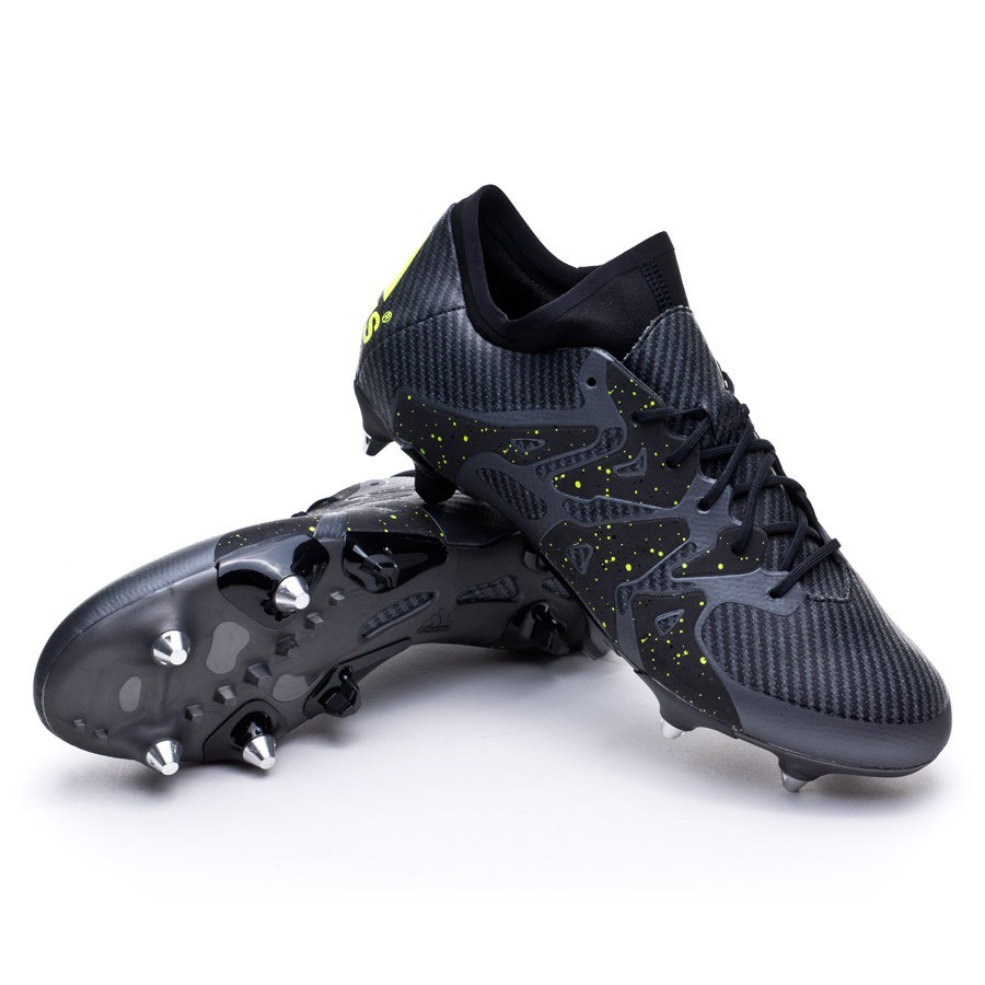 boot adidas x 15 1 sg core black solar yellow night metallic football store f tbol emotion. Black Bedroom Furniture Sets. Home Design Ideas