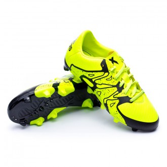 Bota  adidas X 15.3 FG/AG Niño Solar yellow-Core Black-Frozen yellow