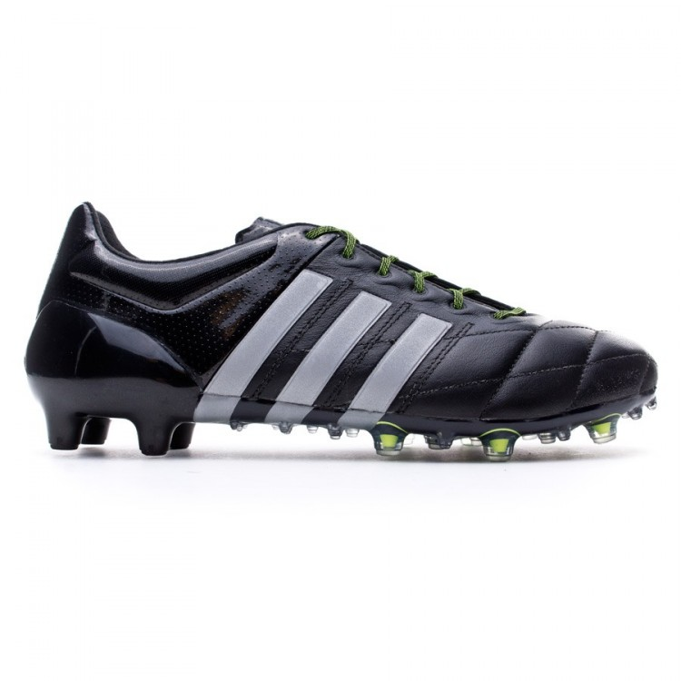 boot adidas ace fg / ag in nero argento metallico nucleo solare