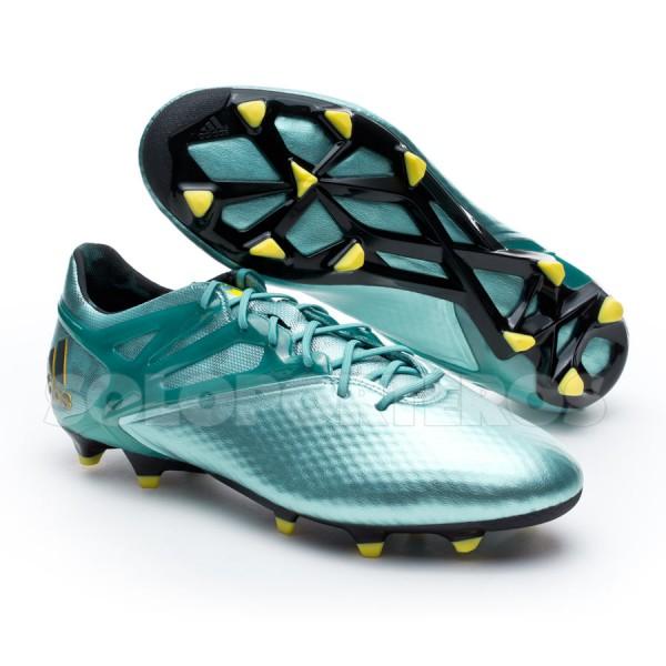 44aa7094c4e96 Boot adidas Messi 15.1 FG AG Matt ice metallic-Bright yellow-Core ...