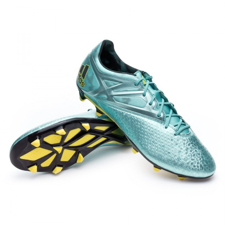023f7da1301 Boot adidas Messi 15.2 FG AG Matt ice metallic-Bright yellow-Core ...