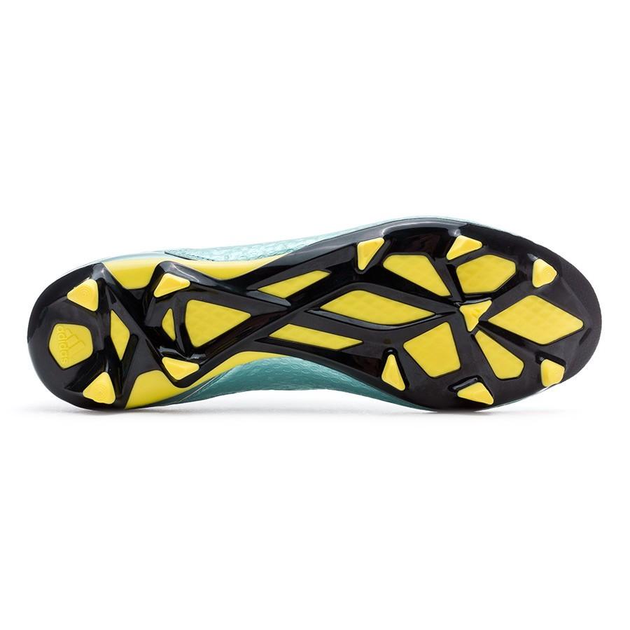 45e9c92b9e70 Football Boots adidas Messi 15.2 FG/AG Matt ice metallic-Bright yellow-Core  black - Football store Fútbol Emotion
