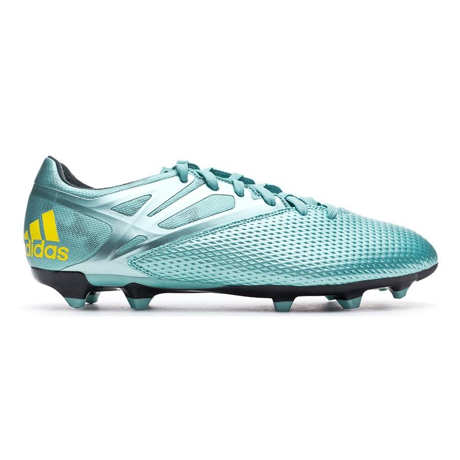 newest 92dc3 c0a3e Boot adidas Messi 15.3 FGAG Matt ice metallic-Bright yellow-Core black -  Football store Fútbol Emotion