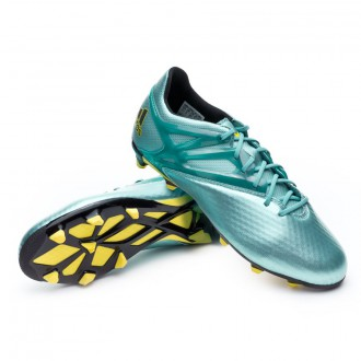 Kids Messi 15.1 FG/AG Matt ice metallic-Bright yellow-Core black