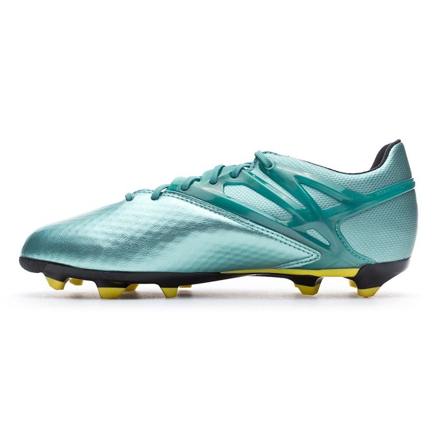 eb6fa4c5a888 Boot adidas Kids Messi 15.1 FG AG Matt ice metallic-Bright yellow-Core  black - Leaked soccer