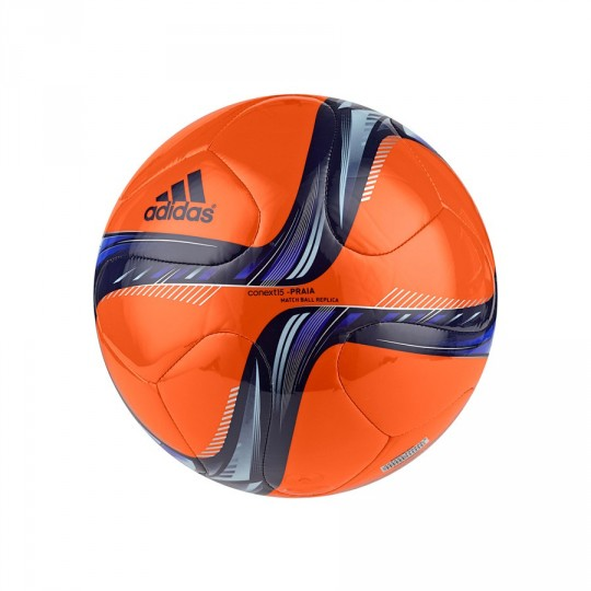 Bola de Futebol  adidas Conext 15 Praia Orange-Night sky-Clear blue-Night flash