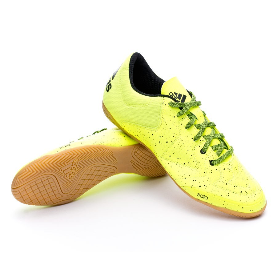 Yellow Chaussure Black Ct Futsal Solar De Core Adidas X 3 15 0vmNnw8