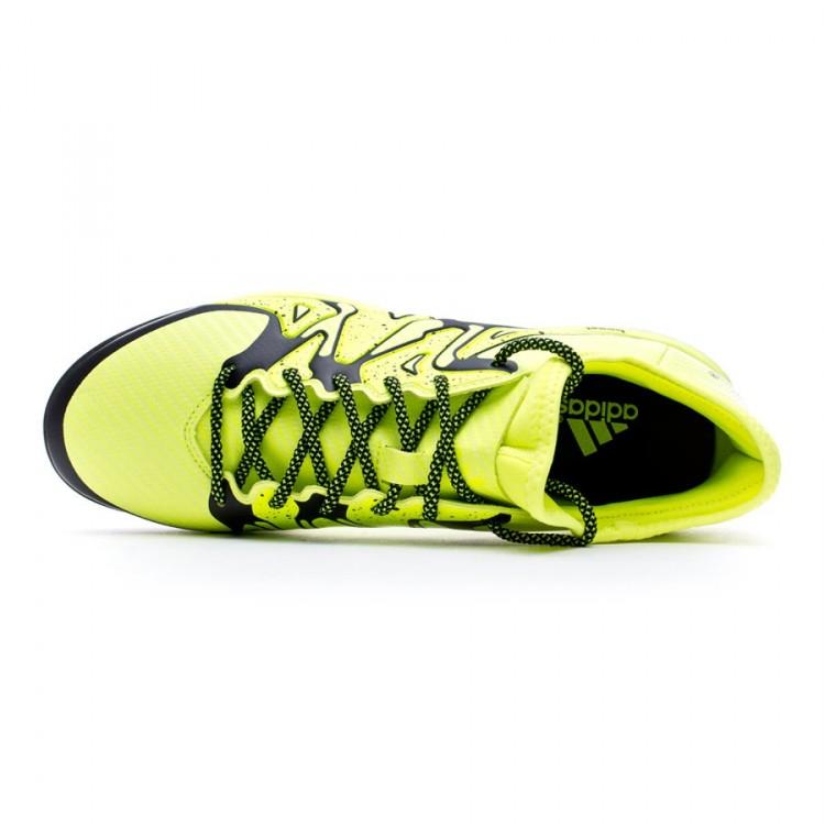 ca563cee4c668 Zapatilla adidas X 15.1 Boost Solar yellow-Core black-Frozen yellow ...