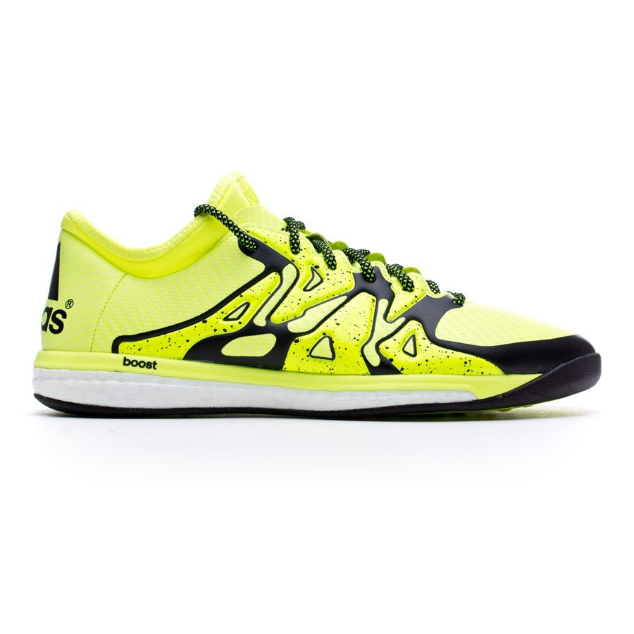 Futsal Boot adidas X 15.1 Boost Solar yellow-Core black-Frozen yellow -  Football store Fútbol Emotion c3bff9a71