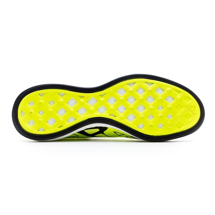 Futsal Boot adidas X 15.1 Boost Solar yellow-Core black-Frozen yellow -  Football store Fútbol Emotion 8b9c00037
