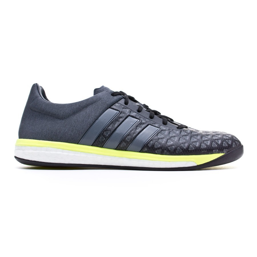 f0fdd6fffb1 Futsal Boot adidas Ace 15.1 Boost Core black-Night metallic-Solar yellow -  Football store Fútbol Emotion