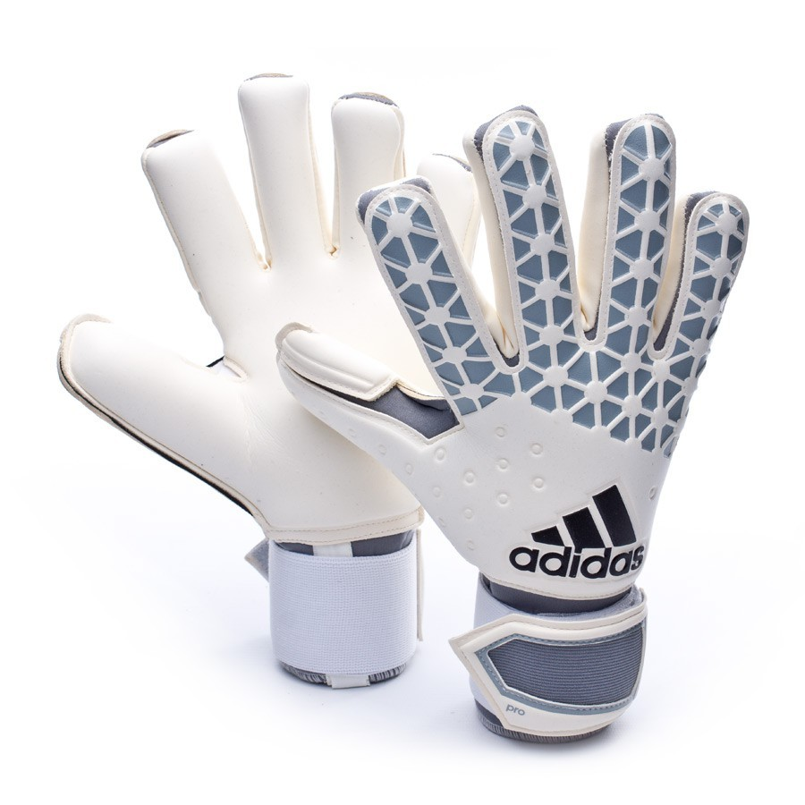 glove adidas ace pro classic white solid grey black. Black Bedroom Furniture Sets. Home Design Ideas