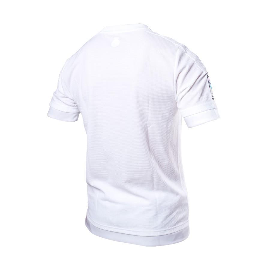 Camiseta adidas Real Madrid Primera Equipación 15-16 White-Clear ... e084623ec687f
