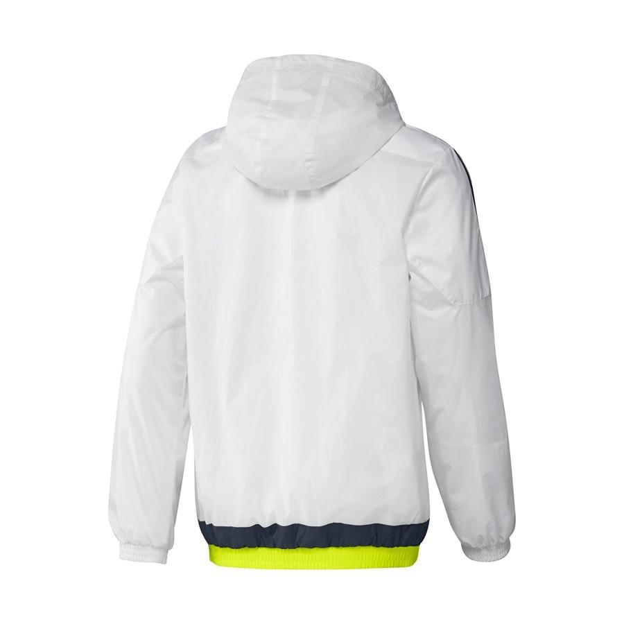 6be612106 Jacket adidas Real Madrid 15-16 White-Deepest space-Solar yellow - Tienda  de fútbol Fútbol Emotion