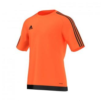 Jersey  adidas Estro 15 SS Naranja flúor-Black