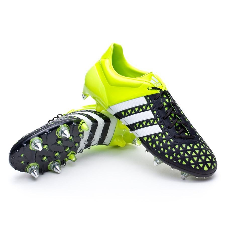 f0abd2f3f adidas Ace 15.1 SG Football Boots. Solar yellow-White-Core black ...