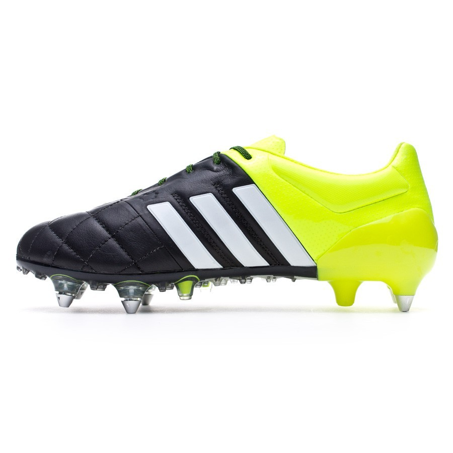 00e73ae87 Football Boots adidas Ace 15.1 SG Piel Solar yellow-White-Core black -  Tienda de fútbol Fútbol Emotion