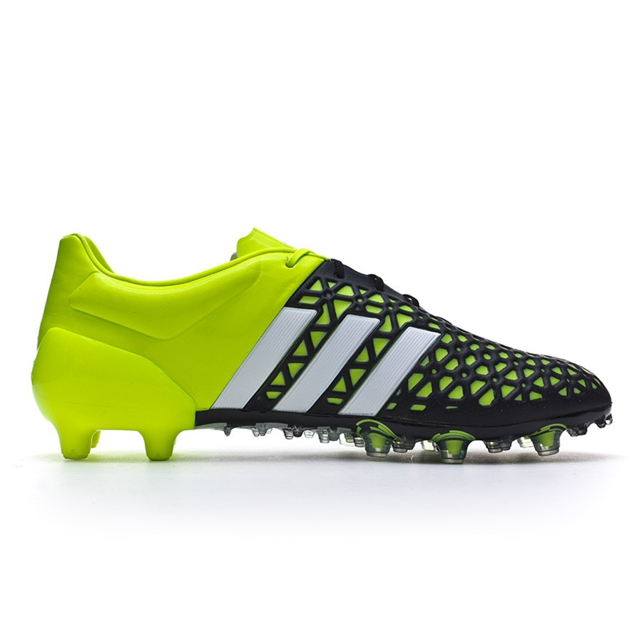 01049ef5d Football Boots adidas Ace 15.1 FG AG Solar yellow-White-Core black -  Football store Fútbol Emotion