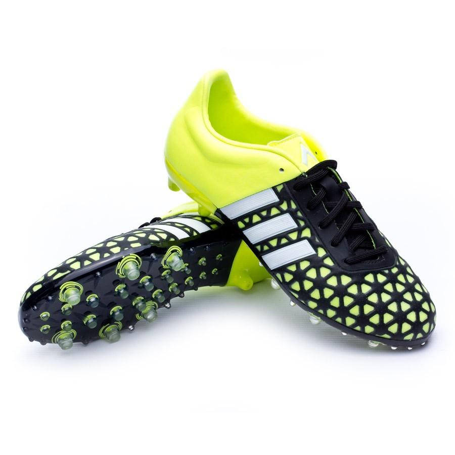 a14d3964e2a10 Zapatos de fútbol adidas Ace 15.1 FG AG Niño Solar yellow-White-Core black  - Soloporteros es ahora Fútbol Emotion