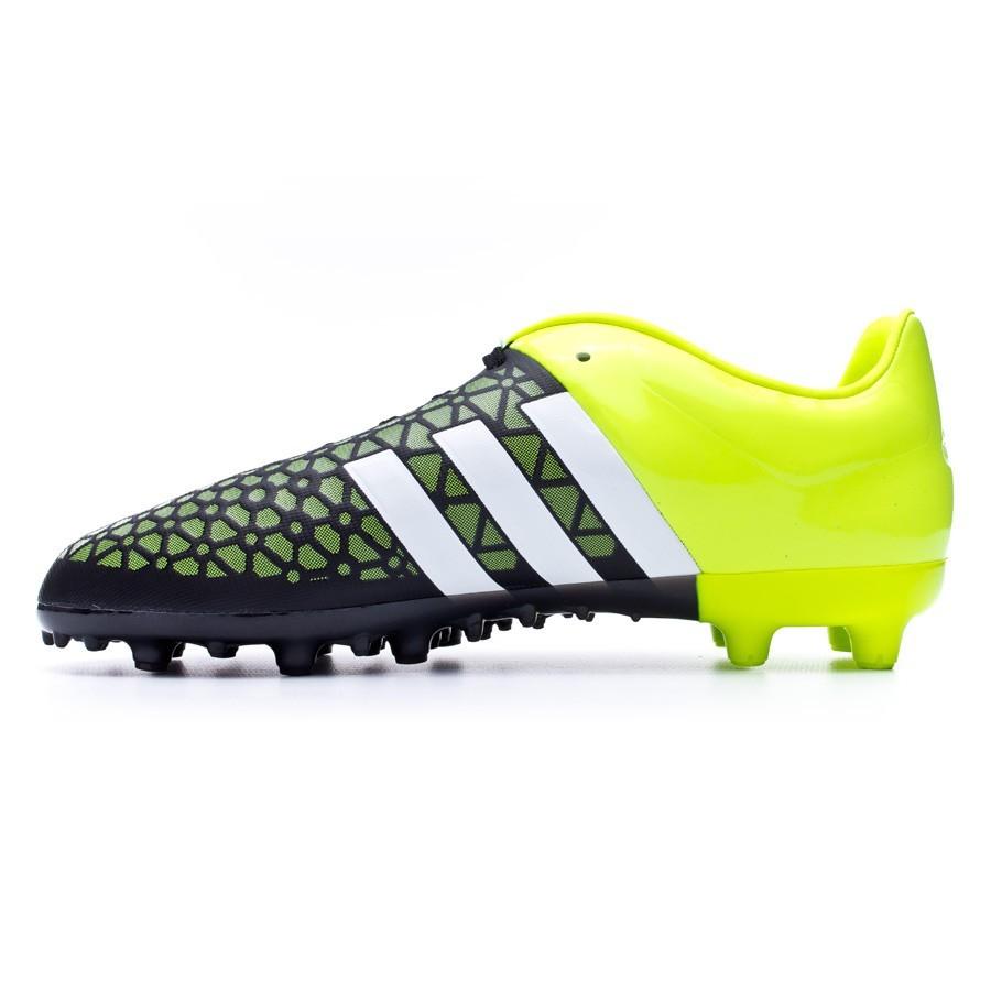 2850f804caa0 Football Boots adidas Ace 15.3 FG/AG Kids Solar yellow-White-Core black -  Football store Fútbol Emotion