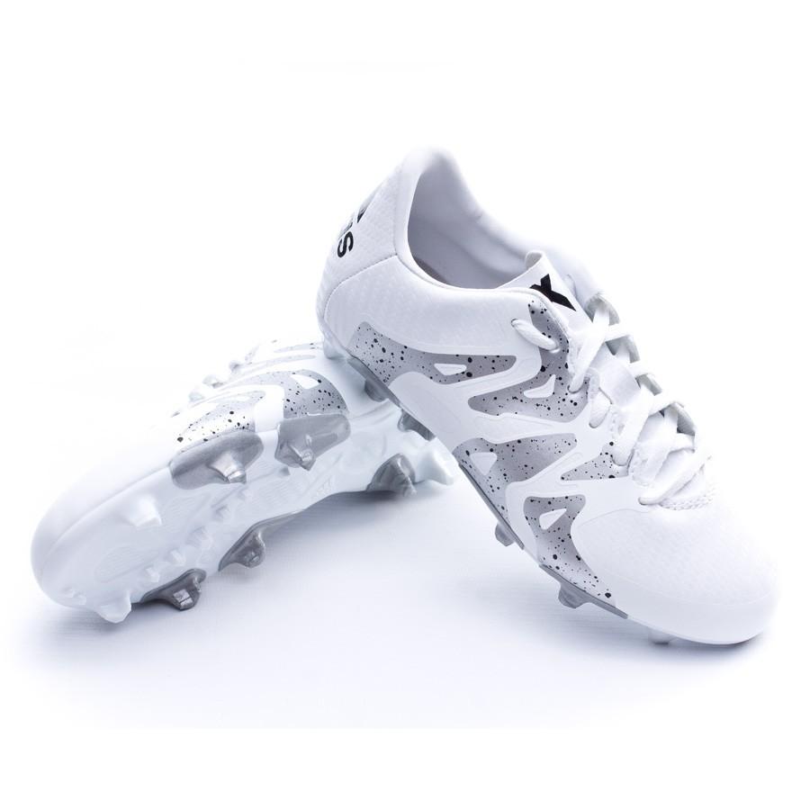 buy online 3b7c7 c5df6 Boot adidas Jr X 15.3 FGAG White - Football store Fútbol Emo