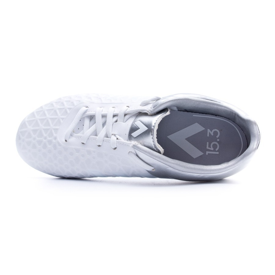 best website f4b10 6de7a Bota de fútbol adidas Ace 15.3 FGAG Niño White - Leaked socc