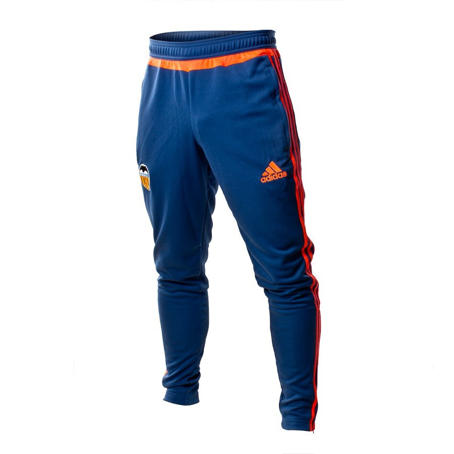 0dddf39634f24 Pantalón largo adidas Valencia CF Training 15-16 Night marine-Solar red -  Tienda de fútbol Fútbol Emotion