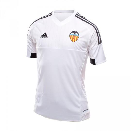 Camiseta  adidas Valencia CF Home 15-16 White-Black