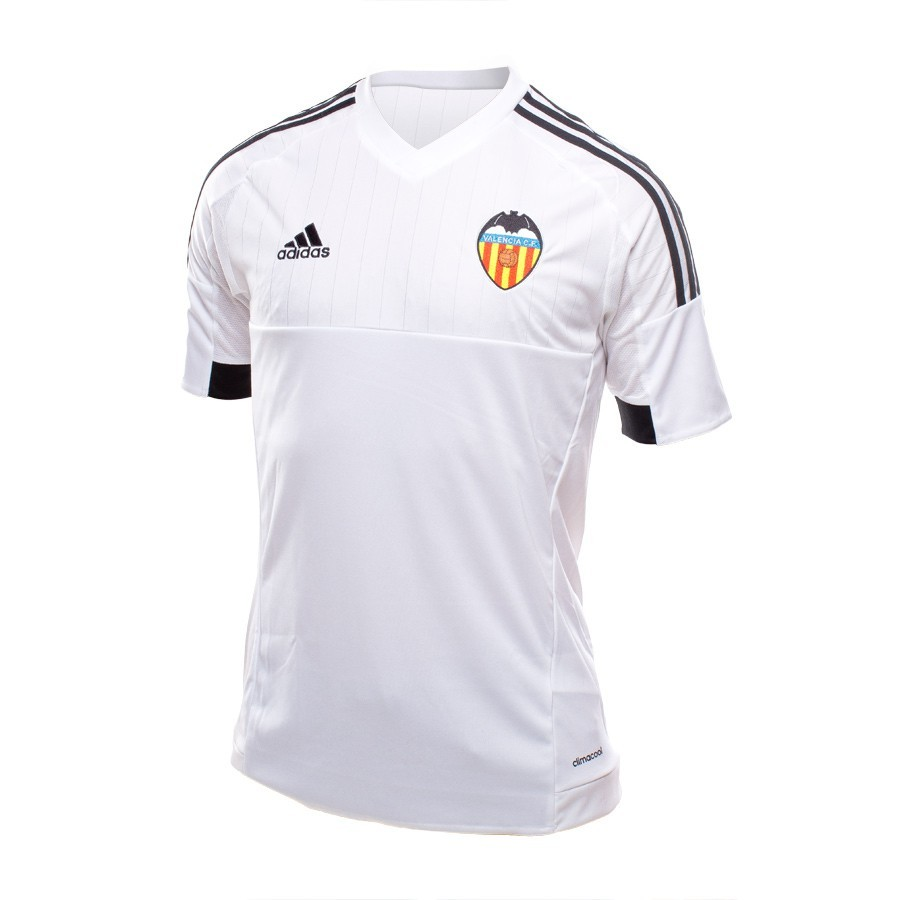 a74ba02800492 Camiseta adidas Valencia CF Primera Equipación 15-16 White-Black - Tienda  de fútbol Fútbol Emotion