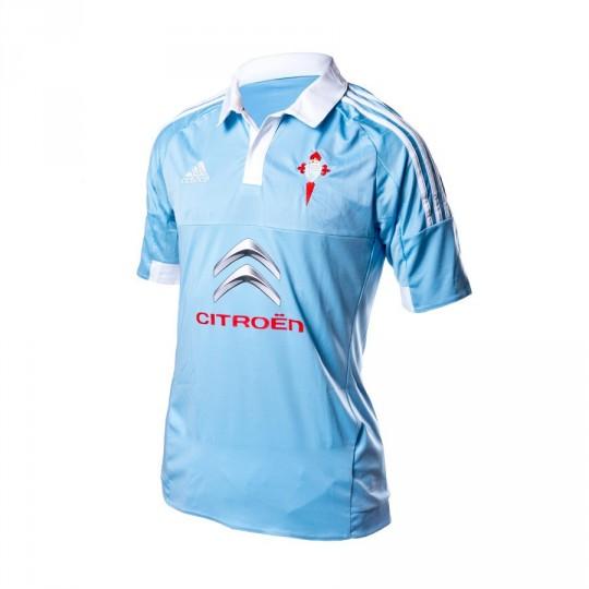 Camiseta  adidas RC Celta de Vigo Home 15-16 Clear blue-White