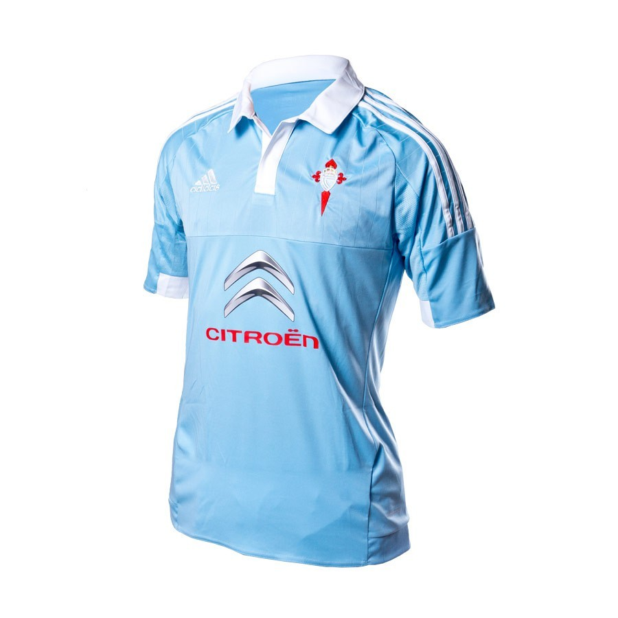 aaa40d05c Camiseta adidas RC Celta de Vigo Primera Equipación 15-16 Clear blue-White  - Tienda de fútbol Fútbol Emotion