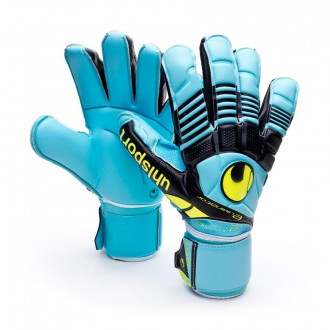 Luvas  Uhlsport Eliminator Absolutgrip Ciano-Amarelo