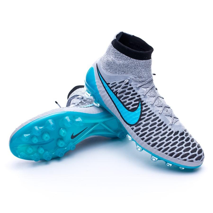 22780860c07b Football Boots Nike Magista Obra ACC AG-R Wolf grey-Turquoise-Black ...